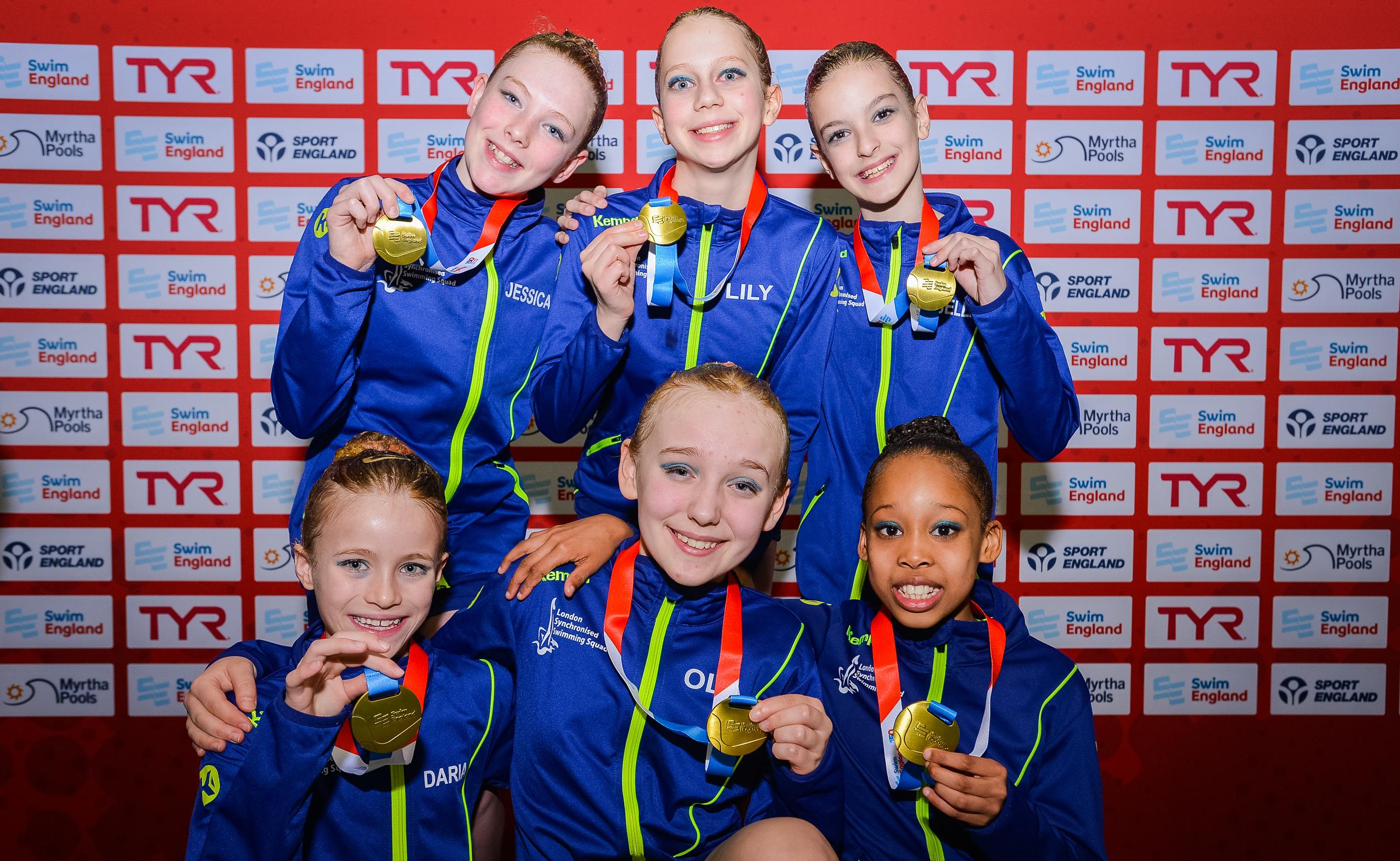 Swim England Synchro - Swim England National Age Group Championships 2019 at Manchester Aquatics Centre